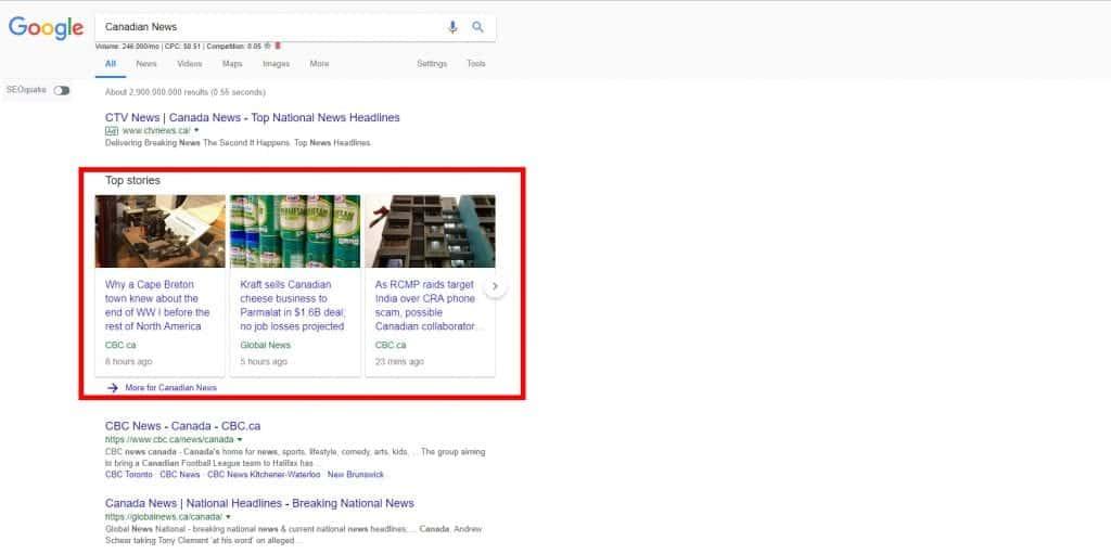Google AMP Mobile web pages slider