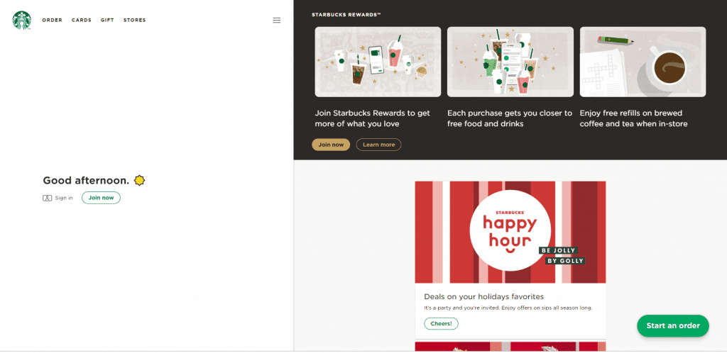 Starbucks has taken their game to the next level with the release of their PWA