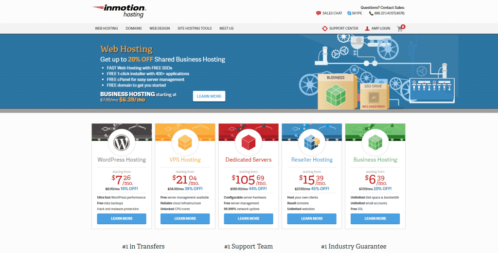 InMotion VPS Hosting Services