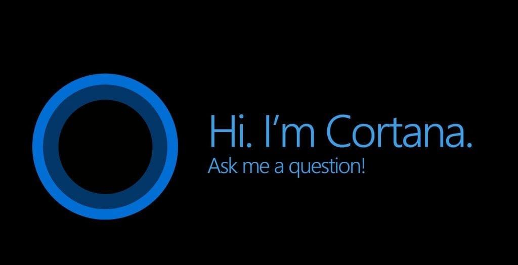Microsoft's Cortana voice assistant