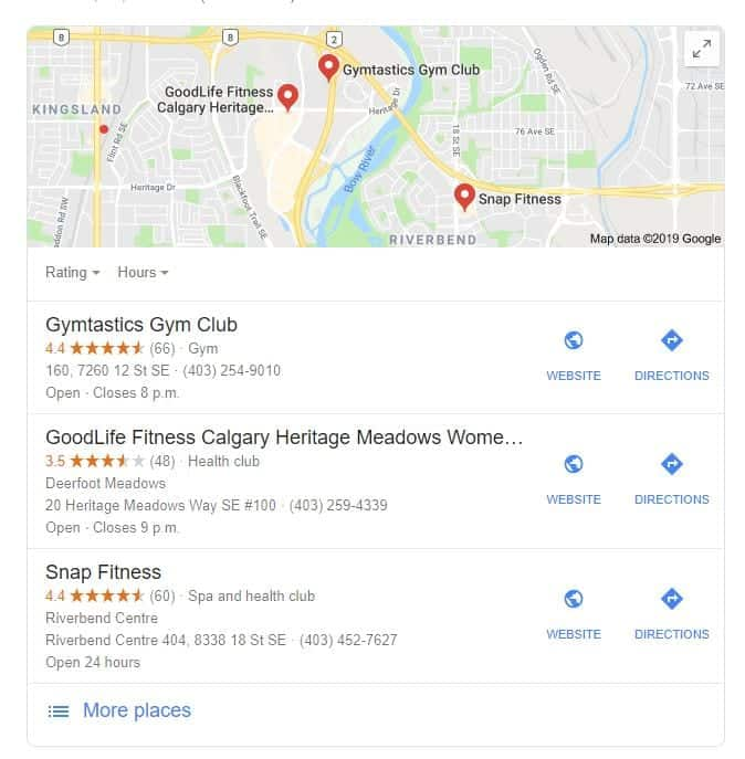 Local SEO using Google's Map Pack