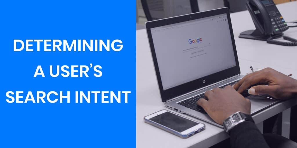 determining a users search intent
