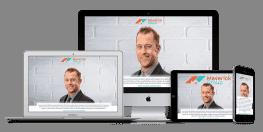 Calgary web design for Maverick Group YYC