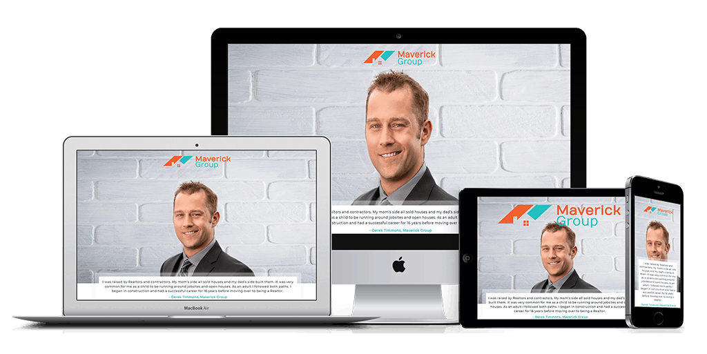 Calgary web design for Maverick Group YYC