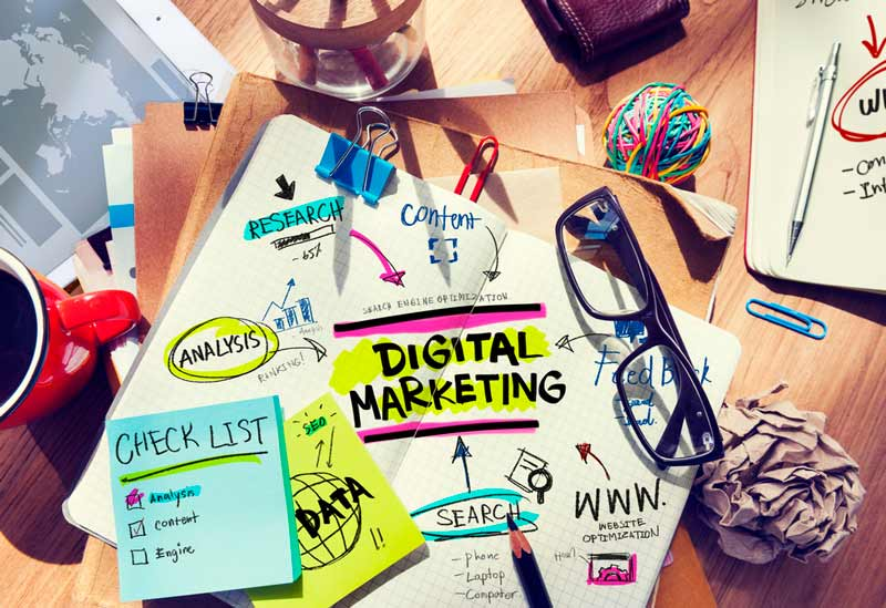 multi pronged approach to digital marketing
