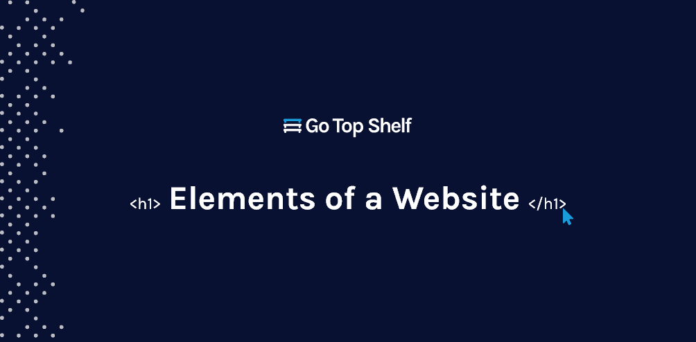 elements of a website cover